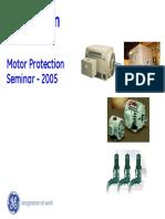 Ge Multilin Motor Protection Seminar