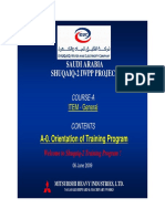 A-0_Orientation of Training Program