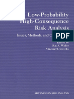 Low-Probability High-consequence risk analysis