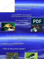 Applying Remote Sensing to Avian Research