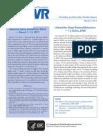 CDC MORBIDITY MORTALITY SUEÑO.pdf