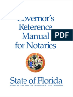 Governor's Reference Manual for Notaries