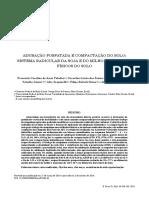 Adubação Fosfatada e Compactação Do Solo. Sistema Radicular Da Soja e Do Milho e Atributos Físicos Do Solo