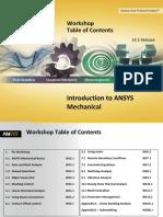ANSYS 14 5 workshop pdf | Microsoft Excel | Yield (Engineering)