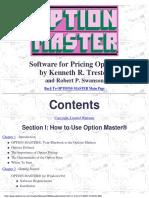 Option Master Manual
