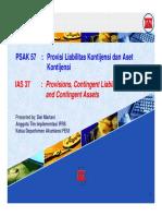 PSAK 57 Provisi Liabilitas Kontijensi Dan Aset Kontijensi