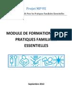 Se former aux pratiques familiales essentielles