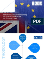 IRES Brexit Romanian Perceptions Graphic Report