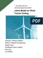 Wind Turbine Final Report