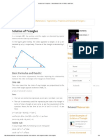 Solution of Triftghangles – Study Material for IIT JEE _ AskIITians
