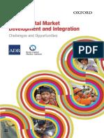 Asian Capital Market Development Integration