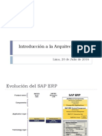 Introduccion a La Arquitectura SAP