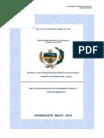 Estudio Caracterización Huanoquite 2016