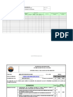 Formato Evaluacion de Proveedores