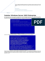 Tutorial Instalación Win Server 2003