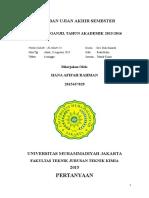 Al3 Hana Afifah Rahman 2015437029