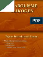 Metabolisme Glikogen