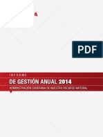 Informe Gestion Pdvsa 2014