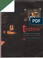 El encierro como modelo de lo tràgico contemporáneoArt. Rvta Teatros New New