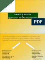 Applicazioni biotecnologiche