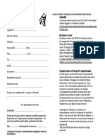 Modulo Iscrizione Corso -2016