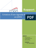 Rapport Java