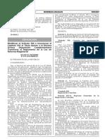 DS N° 013-2016-MINEDU(Modif.Reg.LRM)