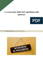 134secretaryinterviewquestionsandanswerspdf 150402213757 Conversion Gate01