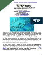 El ADN Basura Nuestro Portal a La Transformación