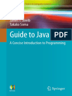 Guide to Java A Concise Introduction to Programming (2014)