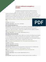 Programas de Cálculo Para Eficiencia Energética y Arquitectura Sustentable