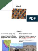 Historia del vestuario 4 Wari y Tiwanaku