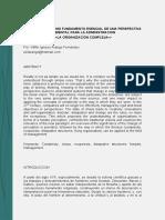 Las Organizaciones y Su Complejidad