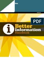 Better Information Handbook
