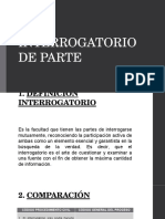 Interrogatorio de Parte - Colombia
