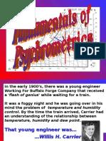 HVAC- Psychrometrics