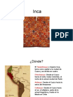 historia del vestuario 6  Inca
