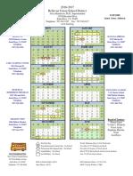 16-17 school calendar