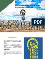 Brochure Free Biking Cusco