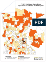 Map of District and Charter School Applications for Voluntary Pre-Kindergarten