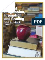 middle school student progression promotion and grading handbook sppg 0