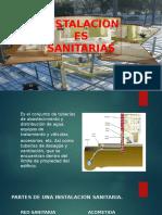 INSTALACIONES SANITARIAS AVANCE