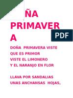 Doña Primavera