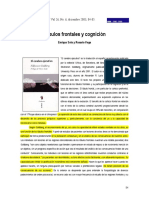 2003 Soto y Vega, Salud Mental Lobulos Frontales y Cognicion