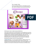 Kombination Revolyn und Pure Cleanse-Tabletten