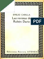 Artículo - Carilla - Las Revistas de Rubén Darío