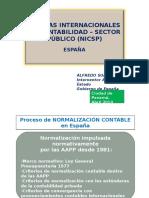 Experiencias Internacionales en La Adopción de Las NICSP - Espana