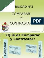 Comparar y Contrastar