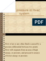 HVAC Duct Pressure in Hvac System10