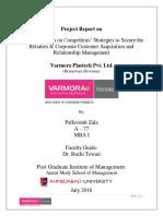 SIP Report on Varmora Plastech Pvt. Ltd.